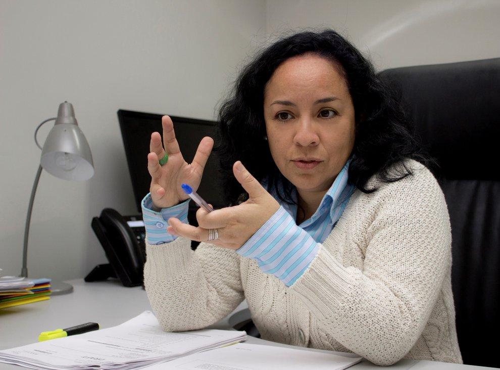 Rosa Morales, coordinadora de Negociaciones del Ministerio del Ambiente. (Foto: Ministerio del Ambiente).