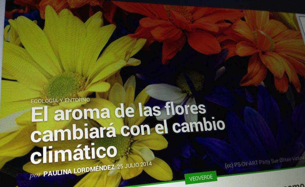 Externa Flores cambio climático