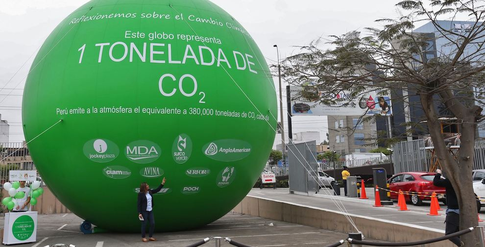 externa tonelada globo cambio climatico