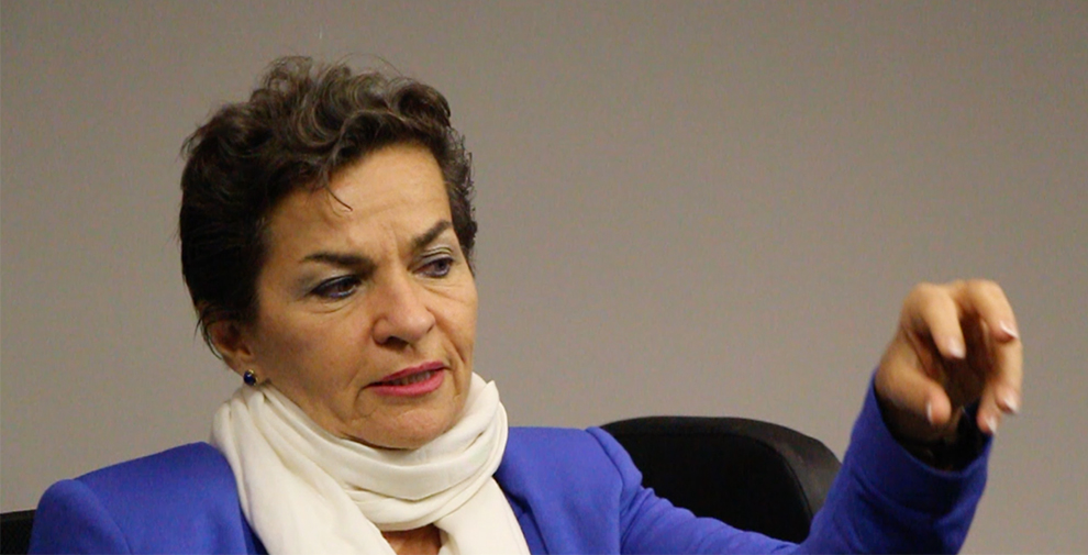"Christiana Figueres: ""la mayor incidencia (juvenil) es at home"""