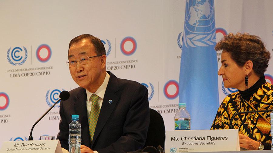 """Ban Ki Moon: """"Luchar por el Cambio climático es una parte fundamental para el desarrollo"""""""