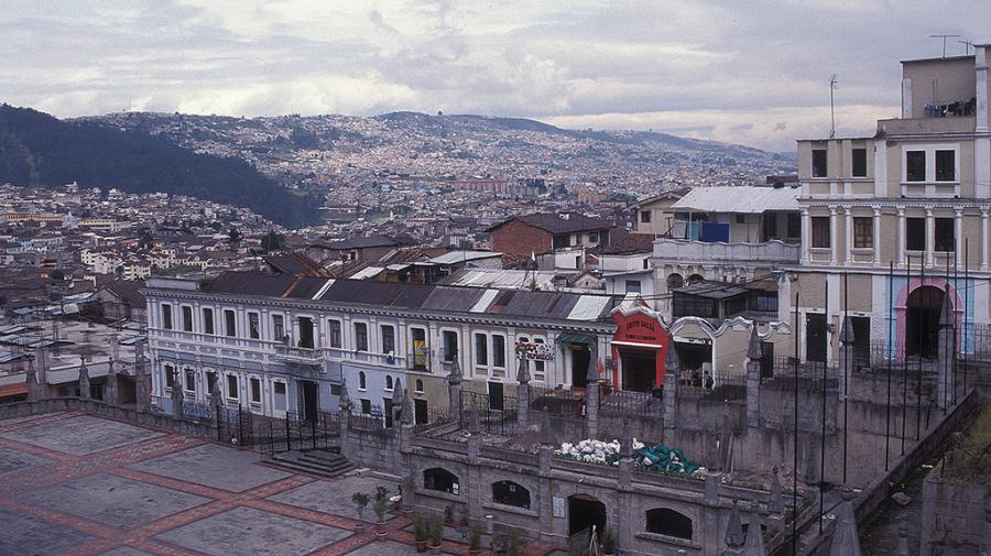 Quito. Foto: Flickr Drriss & Marrionn