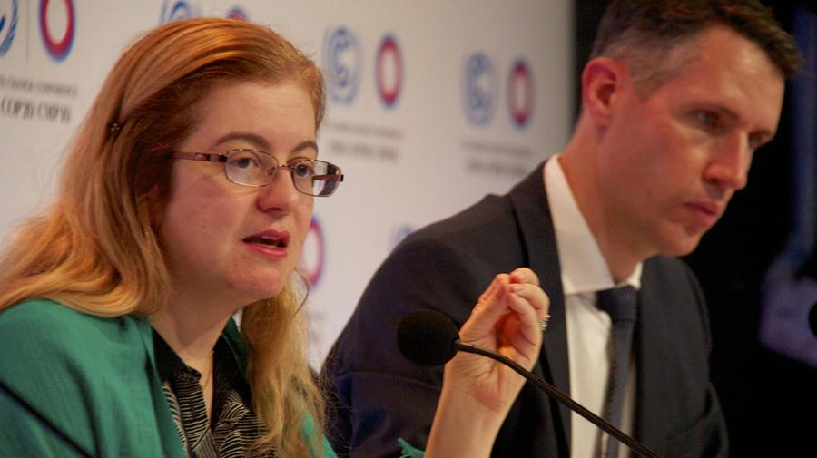 Hèla Cheikhourou, Directora ejecutiva de Fondo Verde. (Foto: Andrés Velarde)