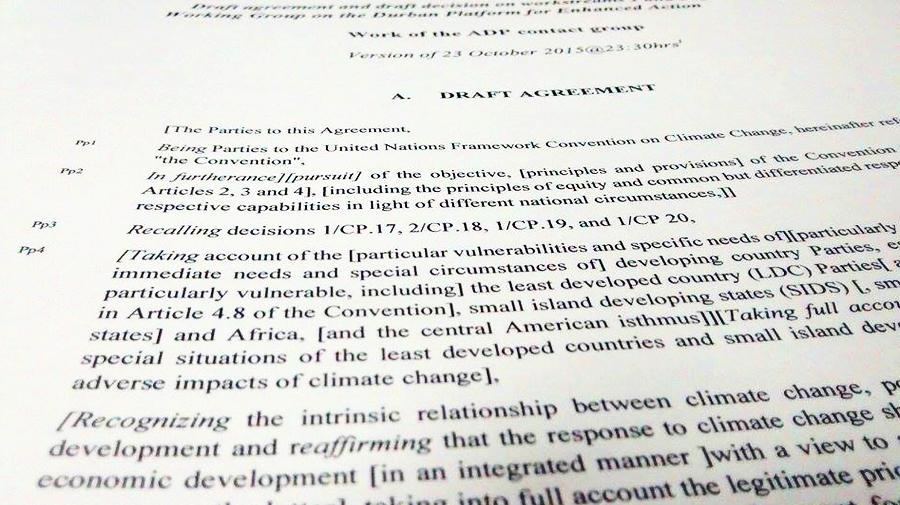 Texto Bonn ADP COP21