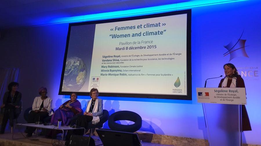 COP21 mujeres vf