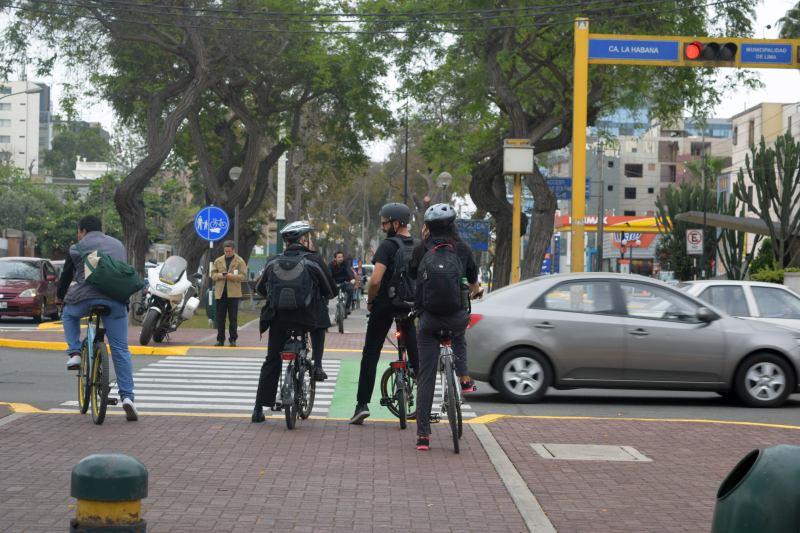 Ciclistas en Lima (Foto: Melissa Capcha)