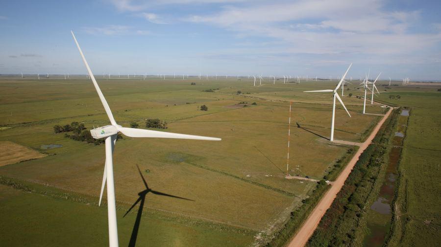 Parque eólico en Brasil (Foto: Programa de Aceleração do Crescimento)